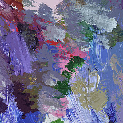 Painting - Confusion 1 by David Lloyd Glover