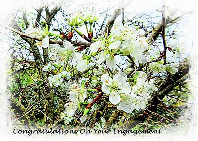 Mixed Media - Congratulations On Your Engagement by Dorothy Berry-Lound
