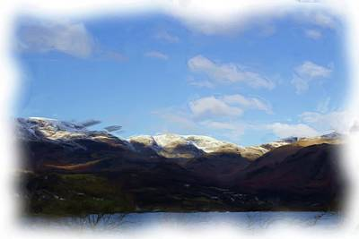 Digital Art - Coniston Painting by JLowPhotos