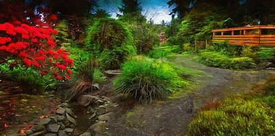 Photograph - Connie Hansen Garden by Thom Zehrfeld