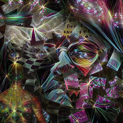 Surrealism Digital Art - Consciousness by Bruce Rolff