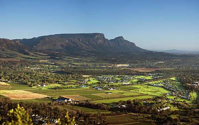 Photograph - Constantia Valley, Constantia, Western by Ken Gerhardt Photography