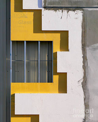 Photograph - Construction Abstract by Guntis Lauzums