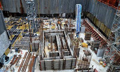 Photograph - Construction Kaleidoscope by Jeremy Hall