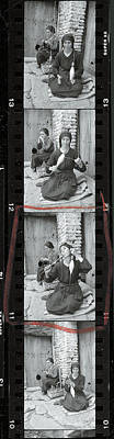 Photograph - Contact Strip Containing Famous Life by W. Eugene Smith