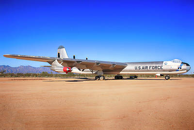 Photograph - Convair B36 Sac Bomber by Chris Smith