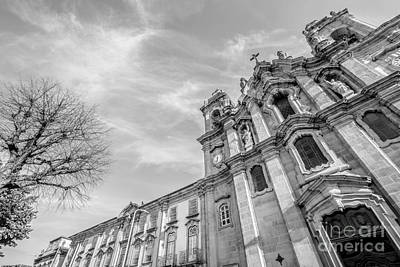 Photograph - Convent Of Congregation Braga by Benny Marty