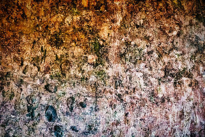 Photograph - Convent Wall Abstract #2 - Portugal by Stuart Litoff