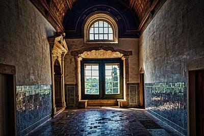 Photograph - Convento Do Cristo Dormitory Corridor - Portugal by Stuart Litoff