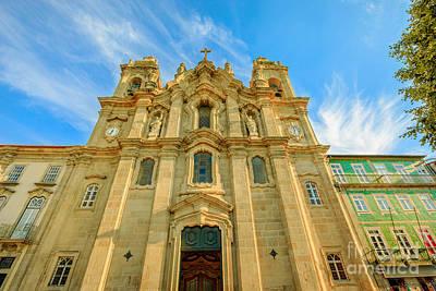 Photograph - Convento Dos Congregados Facade by Benny Marty