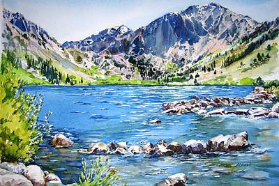 Painting - Convict Lake by Lynn Marit Peterson