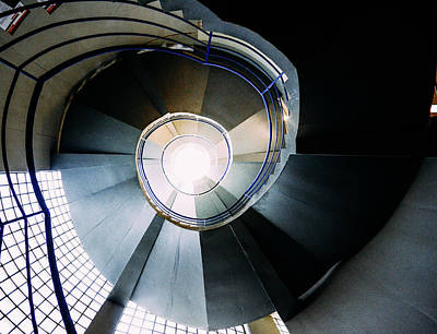 Photograph - Convoluted Staircase  by Alexandre Rotenberg