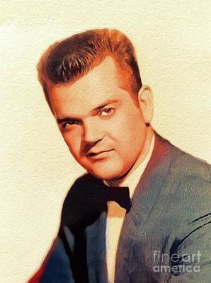 Music Royalty-Free and Rights-Managed Images - Conway Twitty, Music Legend by Esoterica Art Agency