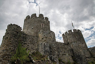 Photograph - Conwy Castle In Wales  by John McGraw