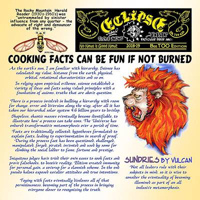 Digital Art - Cooking Facts Can Be Fun by Dawn Sperry