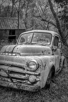 Photograph - Cool Dodge In Black And White by Debra and Dave Vanderlaan