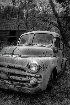 Photograph - Cool Dodge In Radiant Black And White by Debra and Dave Vanderlaan