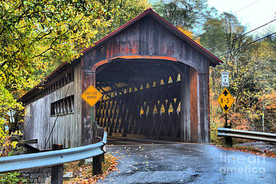 Photograph - Coombs Covered Bridge by Adam Jewell