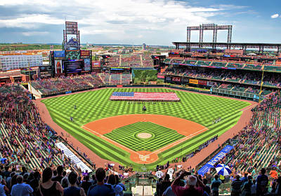 Painting - Coors Field Colorado Rockies by Christopher Arndt