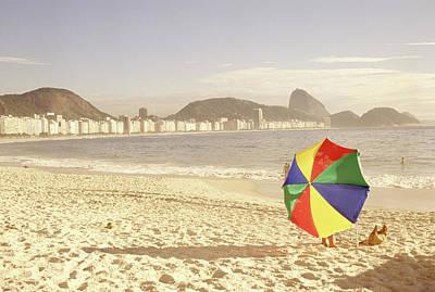 Photograph - Copacabana Beach, Rio De Janeiro, Brazil by Silvestre Machado