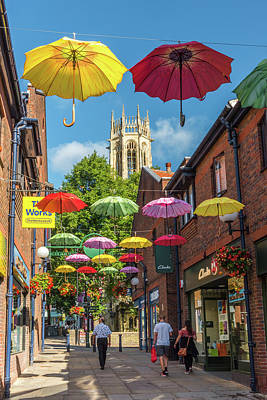 Photograph - Coppergate, York by David Ross