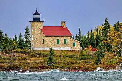 Photograph - Copper Harbor Lighthouse by Susan Rydberg