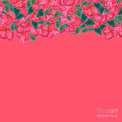 Digital Art - Coral Floral  by Delynn Addams