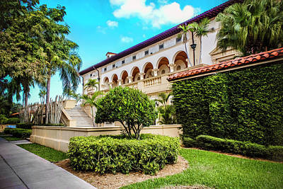Photograph - Coral Gables Series 0010 by Carlos Diaz