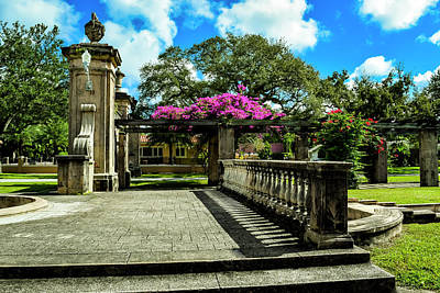 Photograph - Coral Gables Series 0031 by Carlos Diaz