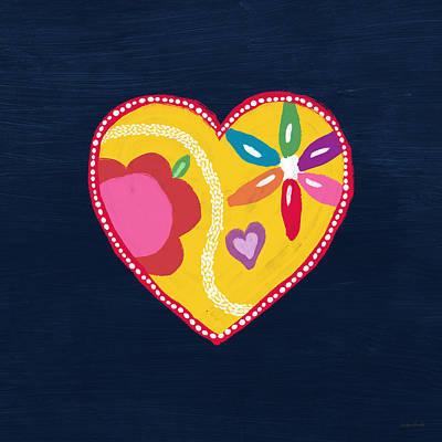 Mixed Media - Corazon 4- Art By Linda Woods by Linda Woods