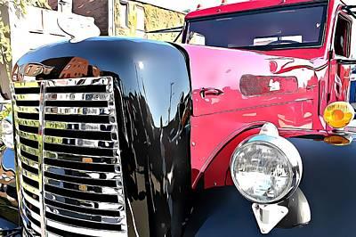 Music Figurative Potraits - Corbitt Truck #10 by Phillip Hanny