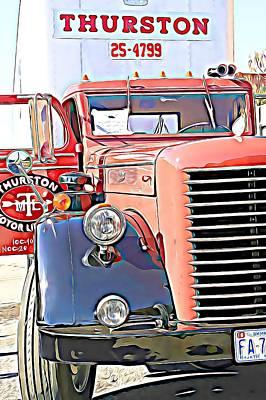 Claude Monet - Corbitt Truck #2 by Phillip Hanny