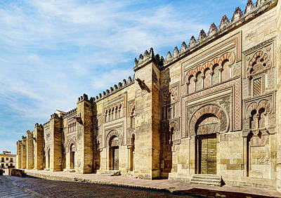 Photograph - Cordoba Mosque Eastern Gates by Weston Westmoreland