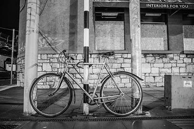Photograph - Cork Ireland Bike  by John McGraw
