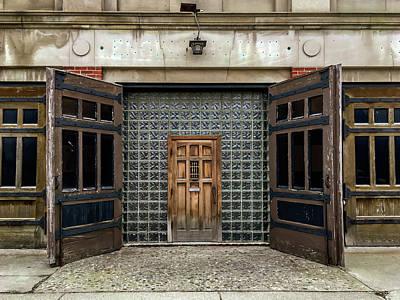 Photograph - Corktown Doors by Exploration Project
