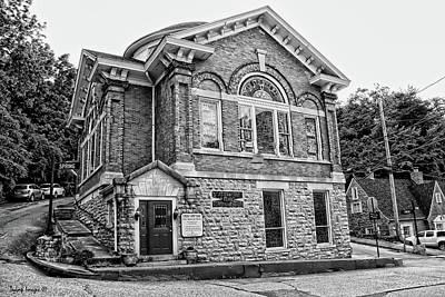 Photograph - Corner Church by Wesley Nesbitt