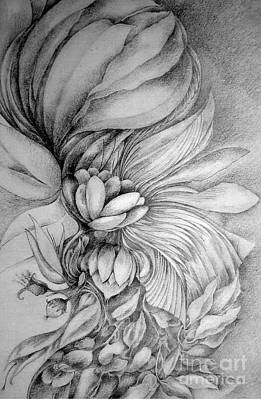 Drawing - Cornucopia by Rosanne Licciardi