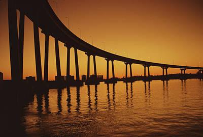 Coronado Bridge Art Print by Harvey Meston