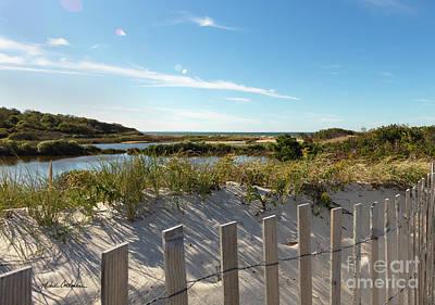 Photograph - Corporation Beach Cape Cod by Michelle Constantine