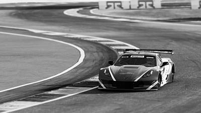 Photograph - Corvette C7r - 15 by Andrea Mazzocchetti