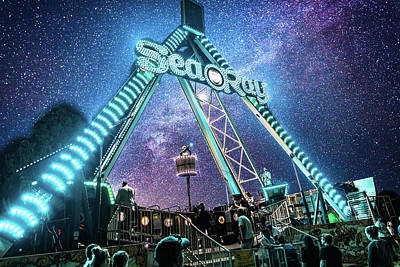 Photograph - Cosmic Fair Ride by Jonny D
