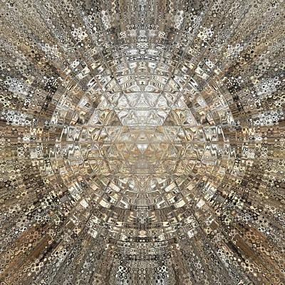 Digital Art - Cosmic Rays by Viral Padiya
