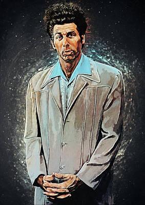 Digital Art - Cosmo Kramer by Zapista Zapista