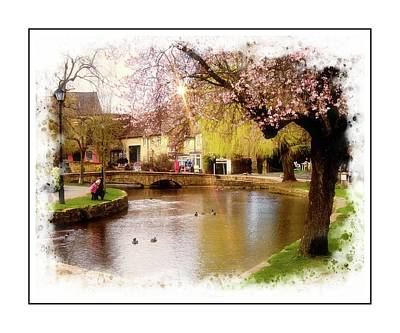 Photograph - Cotswold Village by Pete Hunt