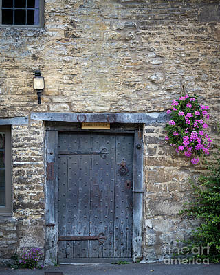 Photograph - Cotswolds Front Door by Brian Jannsen