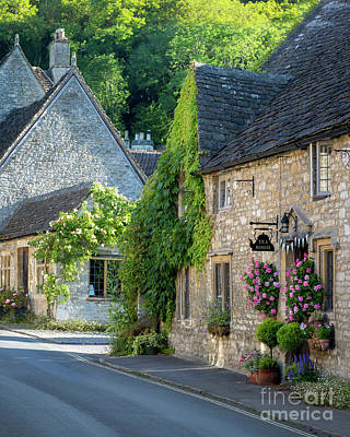 Photograph - Cotswolds Village II by Brian Jannsen