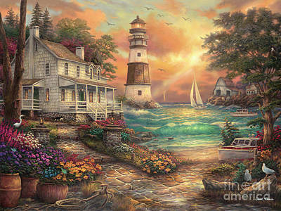 Cottage By The Sea Original