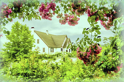 Photograph - Cottage Garden by Marilyn Wilson