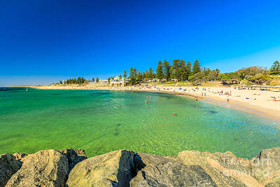 Photograph - Cottesloe Beach Perth by Benny Marty