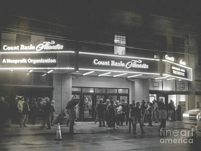 Photograph - Count Basie Theater Night by Colleen Kammerer